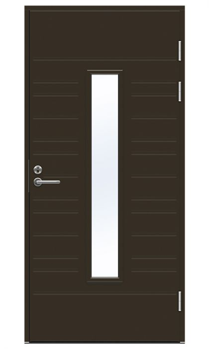 Ulko-ovi Swedoor Function F1896 W28 Tummanruskea