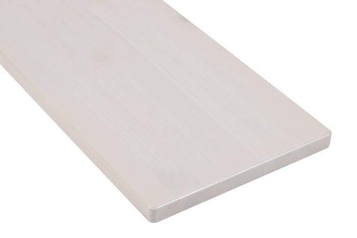 Hyllylevy Valkoinen 18 x 195 mm