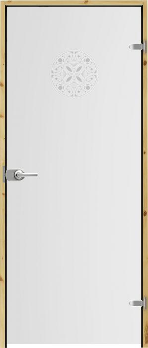 Lasiovi Swedoor Spa OrnamentW+ 10 x 21 Oikea Lukollinen