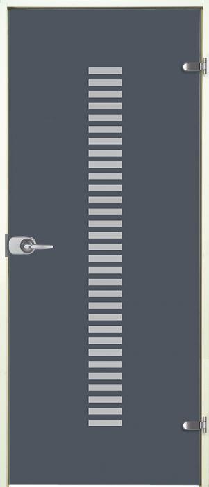 Lasiovi Jeld-Wen Vertico plus 9 x 21 wc-lukko valkoiset karmit