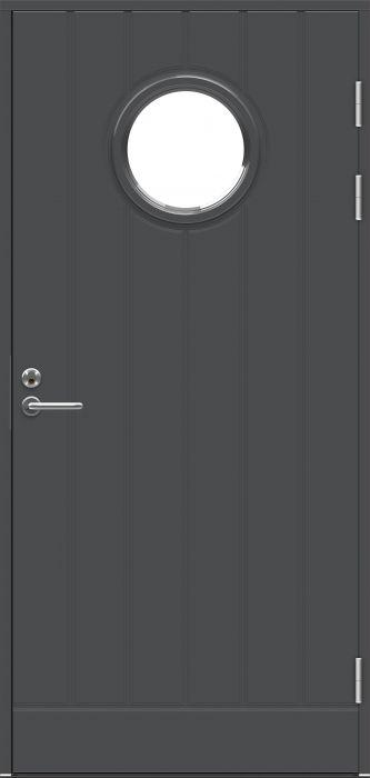 Ulko-ovi Jeld-Wen Function F1894 W68 Tummanharmaa