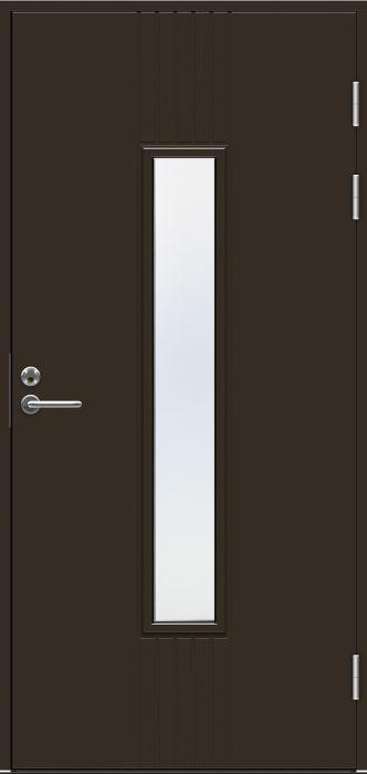 Ulko-ovi Swedoor Function F2050 W28 Tummanruskea