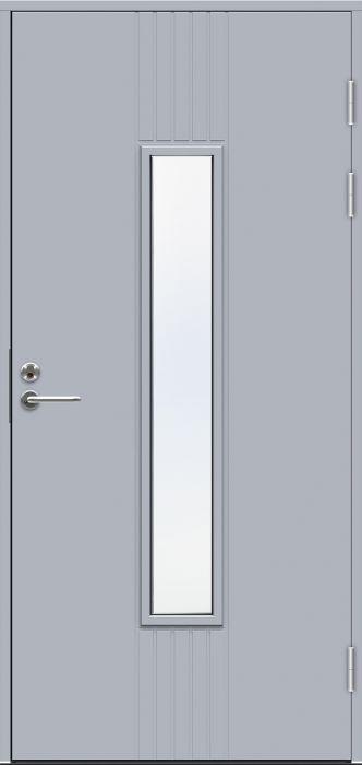 Ulko-ovi Swedoor Function F2050 W28 Vaaleanharmaa