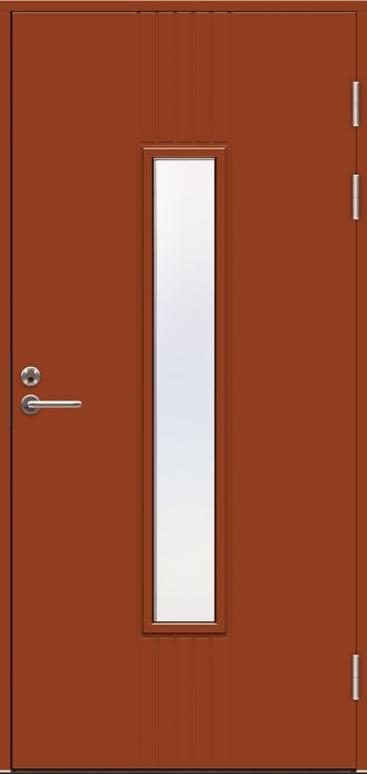 Ulko-ovi Jeld-Wen Function F2050 W28 Tiilenpunainen