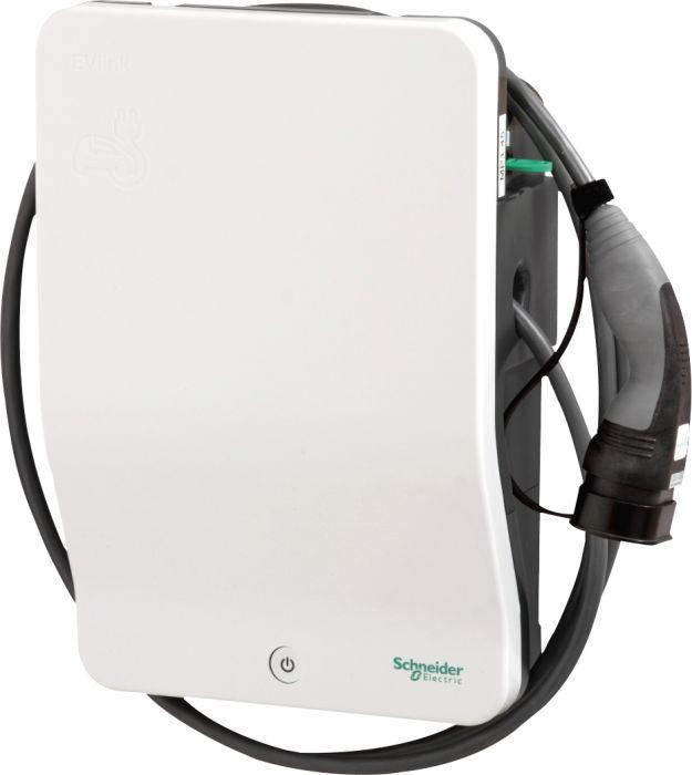 Sähköauton latausasema EVLink Wallbox Plus 7.4 kW