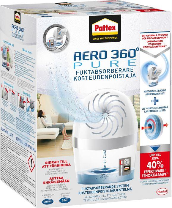 Kosteudenpoistaja Pattex aero 360° Pure