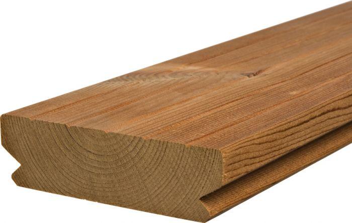 Terassilauta Lunawood Luna Deck 2 Profix 2 Lämpökäsitelty A 26 x 92 mm