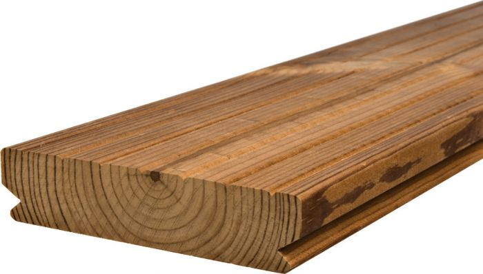 Terassilauta Lunawood Luna Deck 2 Profix 2 Lämpökäsitelty A 26 x 117 mm