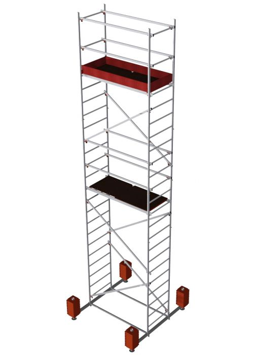 Rakennusteline Krause Corda Liikuteltava Työskentelykorkeus 7 m