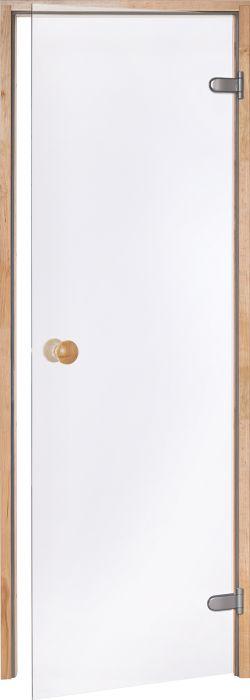 Saunanovi Andres Scan kirkas / leppä 8 x 20