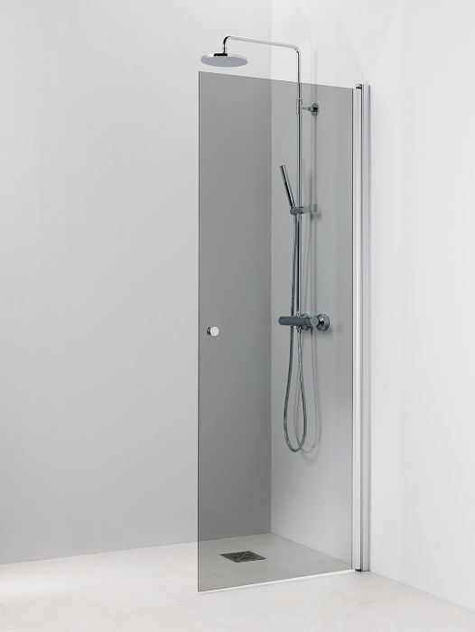 Kääntyvä suihkuseinä Vihtan Pisara 3 Harmaa