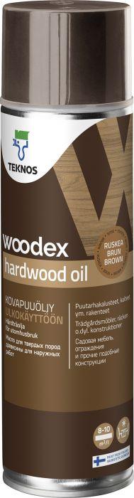 Kovapuuöljy Teknos Woodex Hardwood Oil 500 ml Ruskea