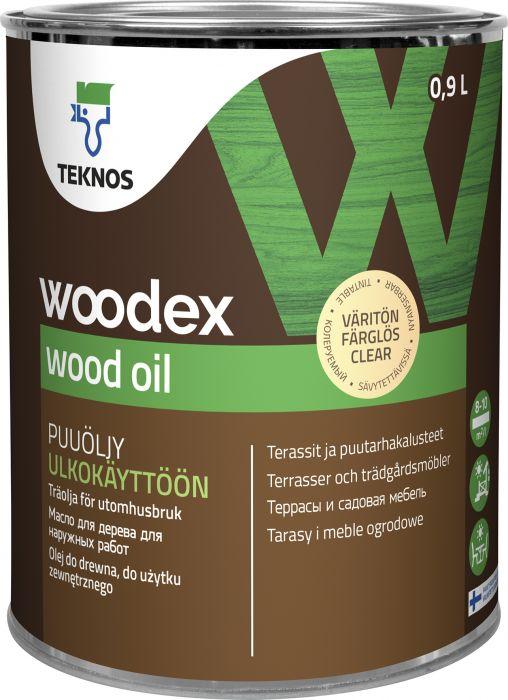 Puuöljy Teknos Woodex Wood Oil Väritön