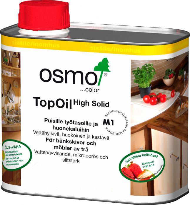 Öljyvaha TopOil 3068 Grafiitti 0,5 l Työtasoille