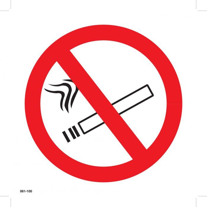 Huomiokyltti Tupakointikielto