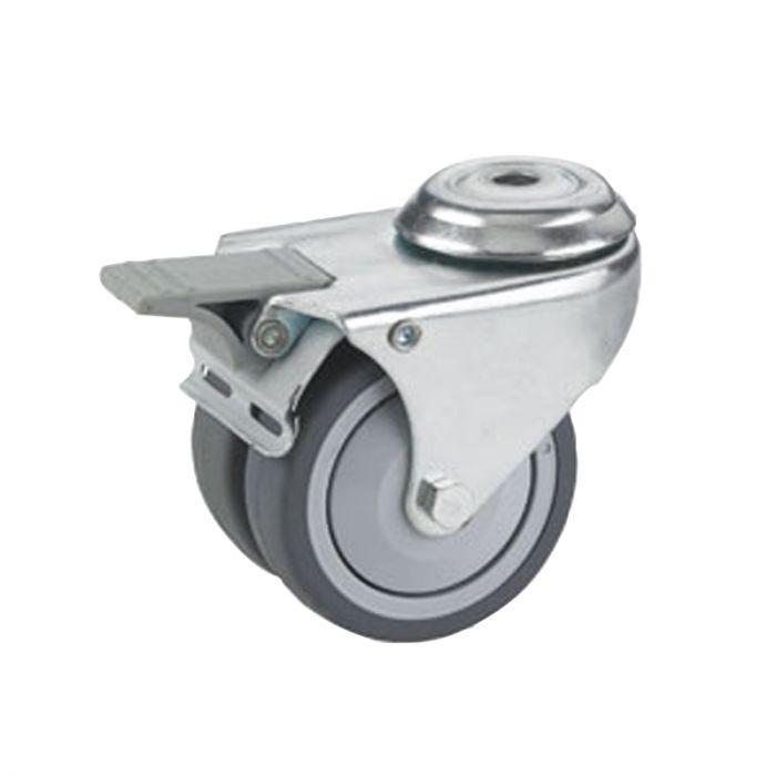 Kaksoispyörä Stabilit 75 x 25 mm, 10,2 mm