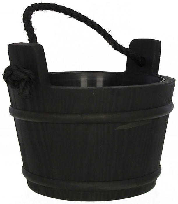 Saunakiulu Pinetta 4 L Musta