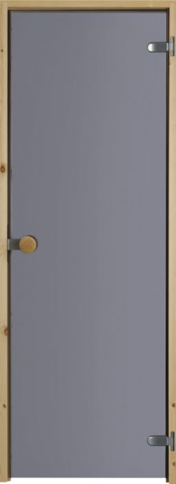 Saunan lasiovi Jeld-Wen Harmaa 83 Mäntykarmi