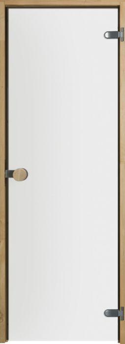 Saunan lasiovi Swedoor Kirkas 87 leppäkarmi
