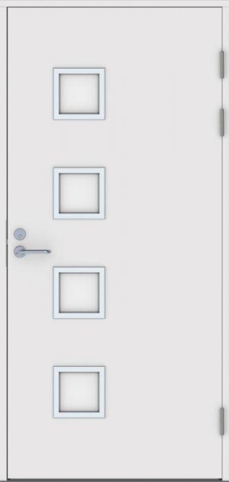 Ulko-ovi Jeld-Wen Function F2090 W82 Valkoinen