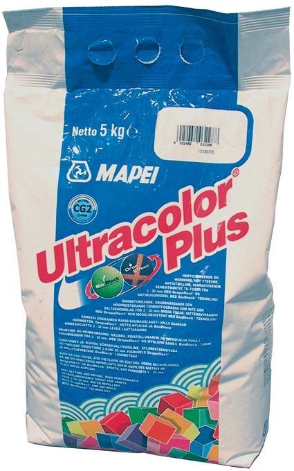 Saumalaasti Mapei Ultracolor Plus 112 Grigio Medio 5 kg