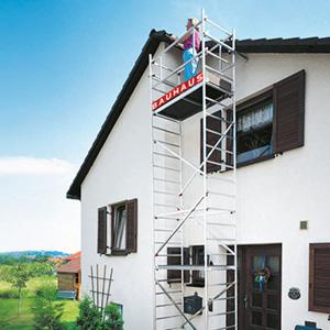 Rakennustelineet ja tikkaat - Turvallisuus ennen kaikkea
