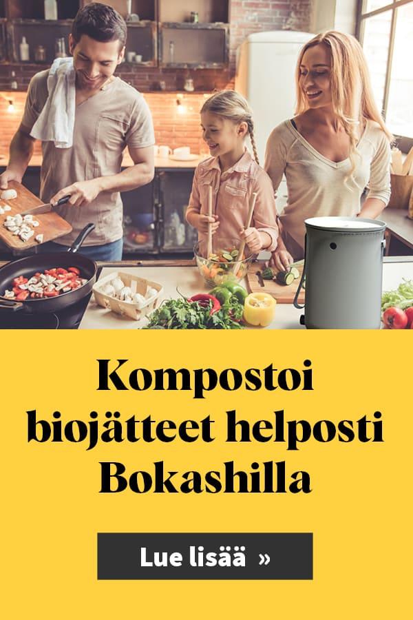 Bokashoi biojätteet