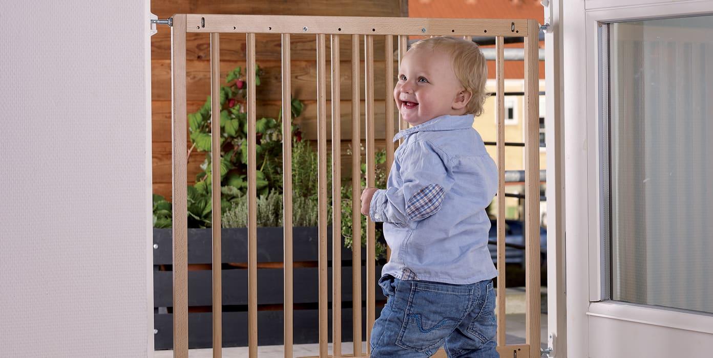 Lapsiportit soveltuvat yleisimpiin oviin