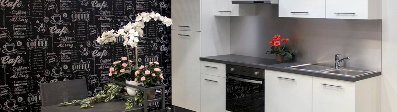 Vera-keittiö 2,7 m levyisenä Vantaan-tavaratalossa